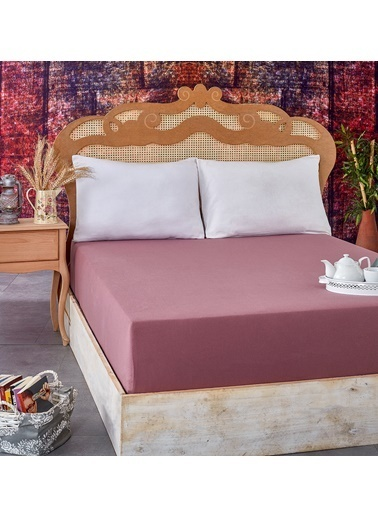 Komfort Home Komfort Home Çift Kişilik Penye Lastikli Çarşaf 150X200 Cm Renkli